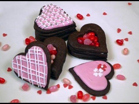 ♥ Cookie-Herz-Box zum Füllen für den Valentinstag oder Muttertag ♥