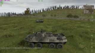 DayZ бой BTR90 и LAV25 !