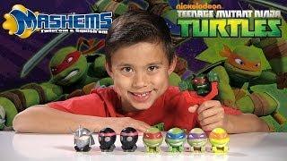 Teenage Mutant Ninja Turtles MASH'EMS & FIST FLYERS + Tortoise Action!