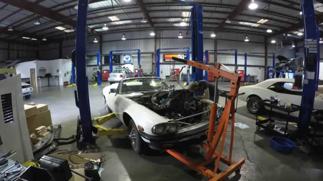 jaguar xjs v12 engine and transmission removal youtube viper v12 jaguar xjs v12 engine diagram #30