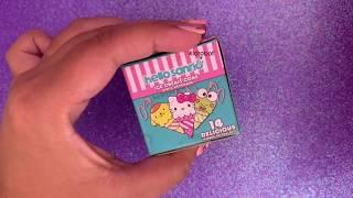HelloSanrio x KidRobot Ice Cream Cone Vinyl Keychain Unboxing