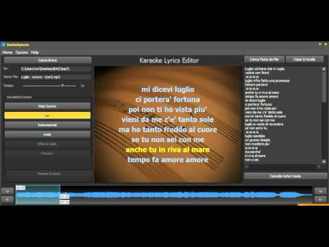 How to Add Lyrics to MP3 and create Video Karaoke