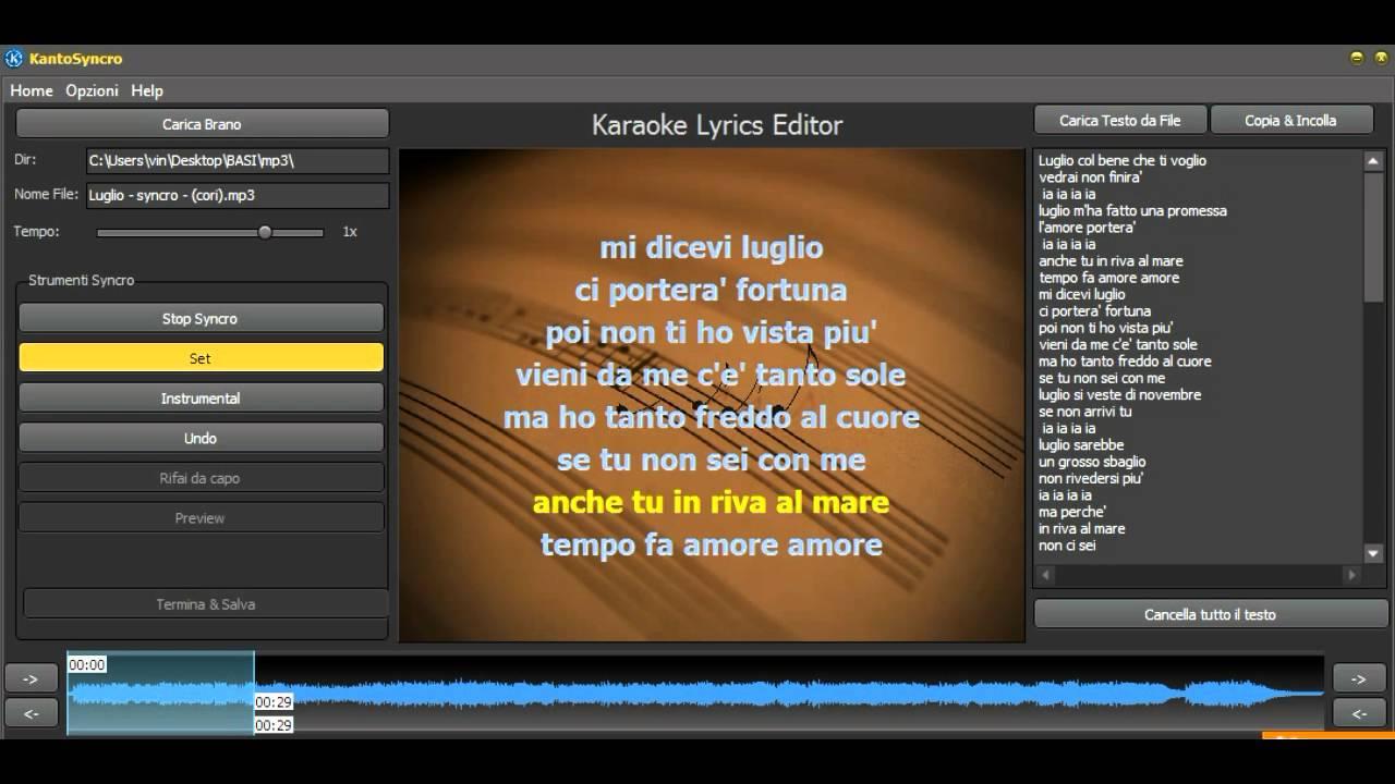 scaricare basi karaoke 5 gratis
