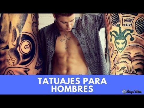 Tatuajes para Hombres SUPER Elegantes para Lucir Bien Todo el Tiempo y M�s para la Temporada Playera