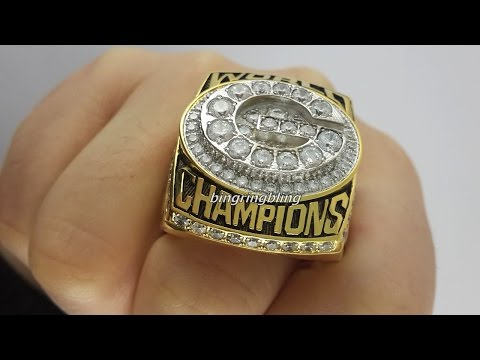 To Packers Fans-1996 Green Bay Packers Super Bowl Ring Replica,Custom Football Rings.