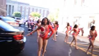running with the bulls 2017 howard homecoming parade