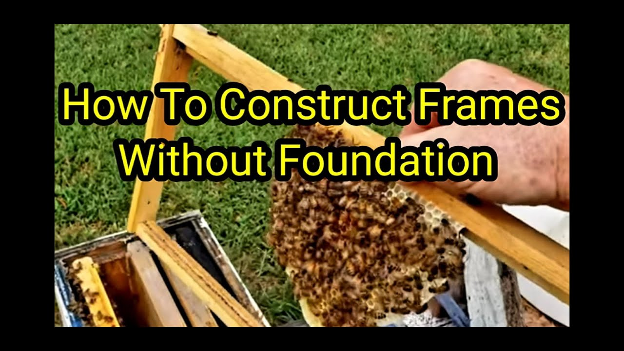 How To Construct Frames Without  Foundation