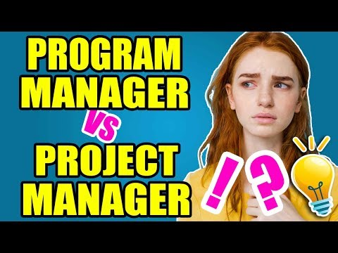 Program Manager Vs Project Manager | Salary | Responsibilities | Skills | Discover Who Is The Best ?