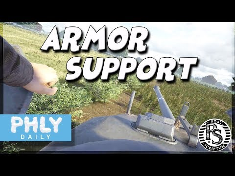 Post Scriptum -Sherman FIREFLY TANK SUPPORT (Post Scriptum Tank Gameplay)