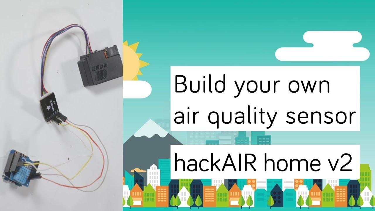 hackAIR home v2 sensor – hackAIR