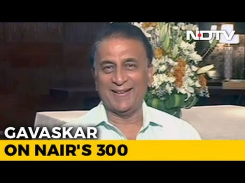 Karun a Wonderful Combination of Dravid, Viswanath: Sunil Gavaskar
