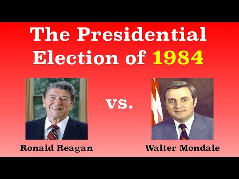 The American Presidential Election of 1984