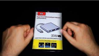 TYPE-C + USB + HDMI DÖNÜŞTÜRÜCÜ İNCELEME / İNCELEME DE NEYMİŞ ?