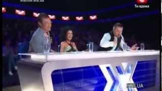 «The X-factor Ukraine» Season 1. Second live show. part 1