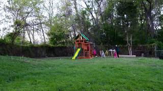How To Build A Swing Set In 1 Min 46 Secs