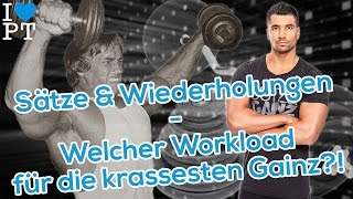 Video Sätze & Wiederholungen - Welcher Workload für die krassesten Gainz?! download MP3, 3GP, MP4, WEBM, AVI, FLV September 2018