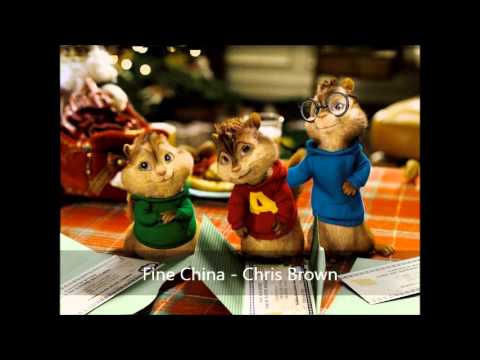 Fine China  Chris Brown Version Chipmunks