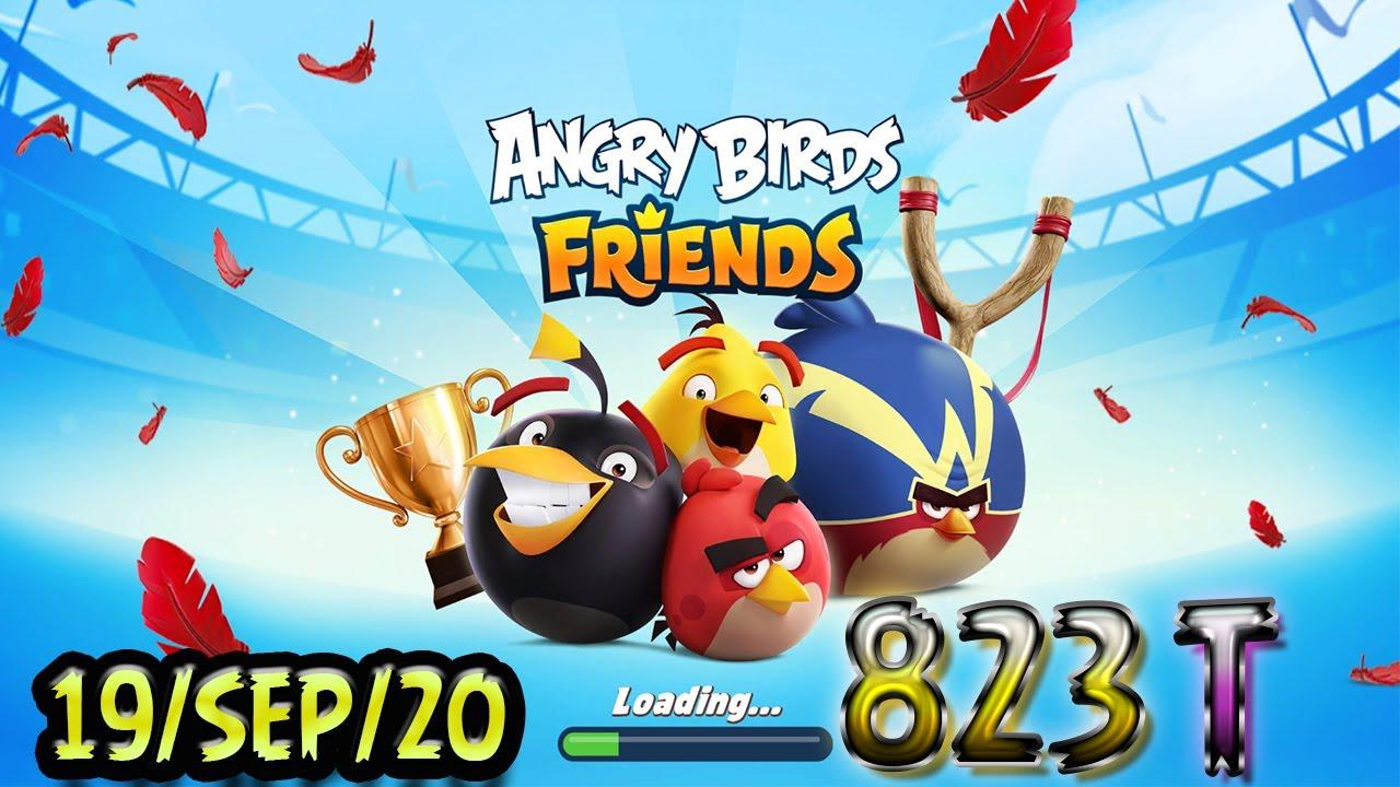Angry Birds Friends All Levels Tournament 823 Highscore POWER-UP walkthrough