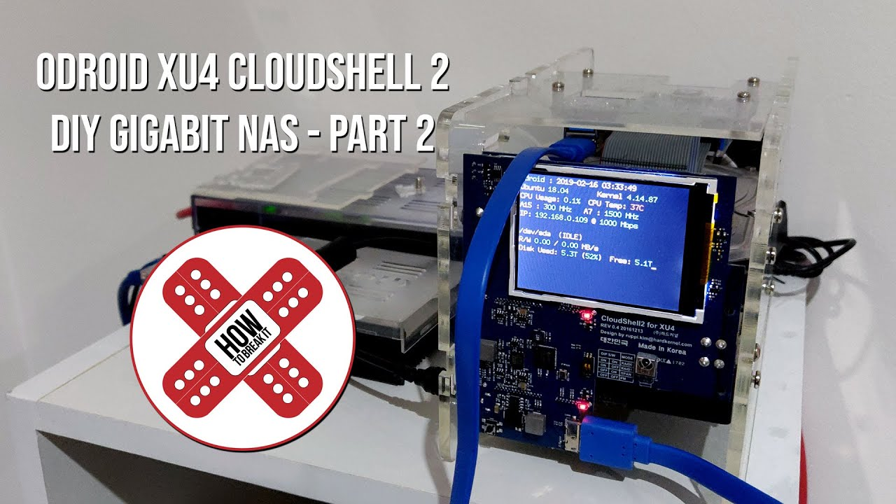 ODroid Cloudshell 2 (Part 2) – Software & Configuration – How To