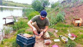 Мои старания для поимки карпа. Ловля карпа на бойлы. Проводим выходный на рыбалке с друзьями.