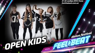 Open Kids #FeeltheBeat Dance Festival