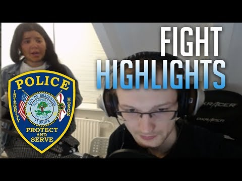 A Friend Fight With Girlfriend Highlights - Police Came + Mom