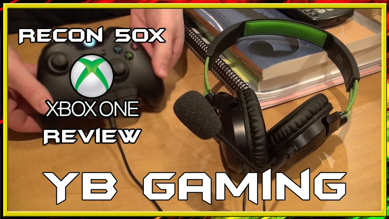 f941906038f Xbox One Recon 50X by Turtle Beach - Full Review - YB Gaming - YouTube