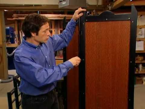 WoodWorks Episode 105 Three Panel Folding Screen Video Preview