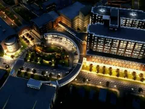 The New Uk Albert B Chandler Hospital Pavilion A Opens