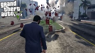 GTA 5 Mods - SO MANY THINGS (Projectile Mod)
