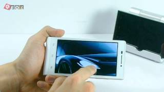 Product Function Demo - HTM A6 4.5 Inch HD FWVGA 3G Smartphone