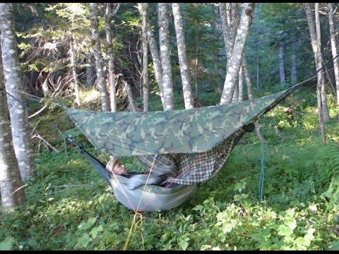 diy hammock camping setup 2016 diy hammock camping setup 2016   youtube  rh   youtube