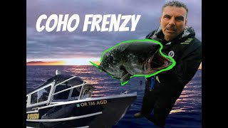 COHO FISHING SETUP! CATCH AND CLEAN!