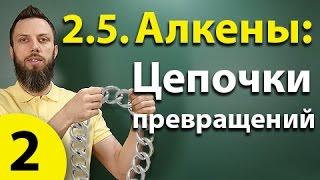 2.5. Алкены: Решение цепочек. Часть 2. ЕГЭ по химии