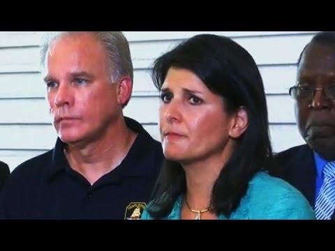 Governor chokes up over Charleston shooting