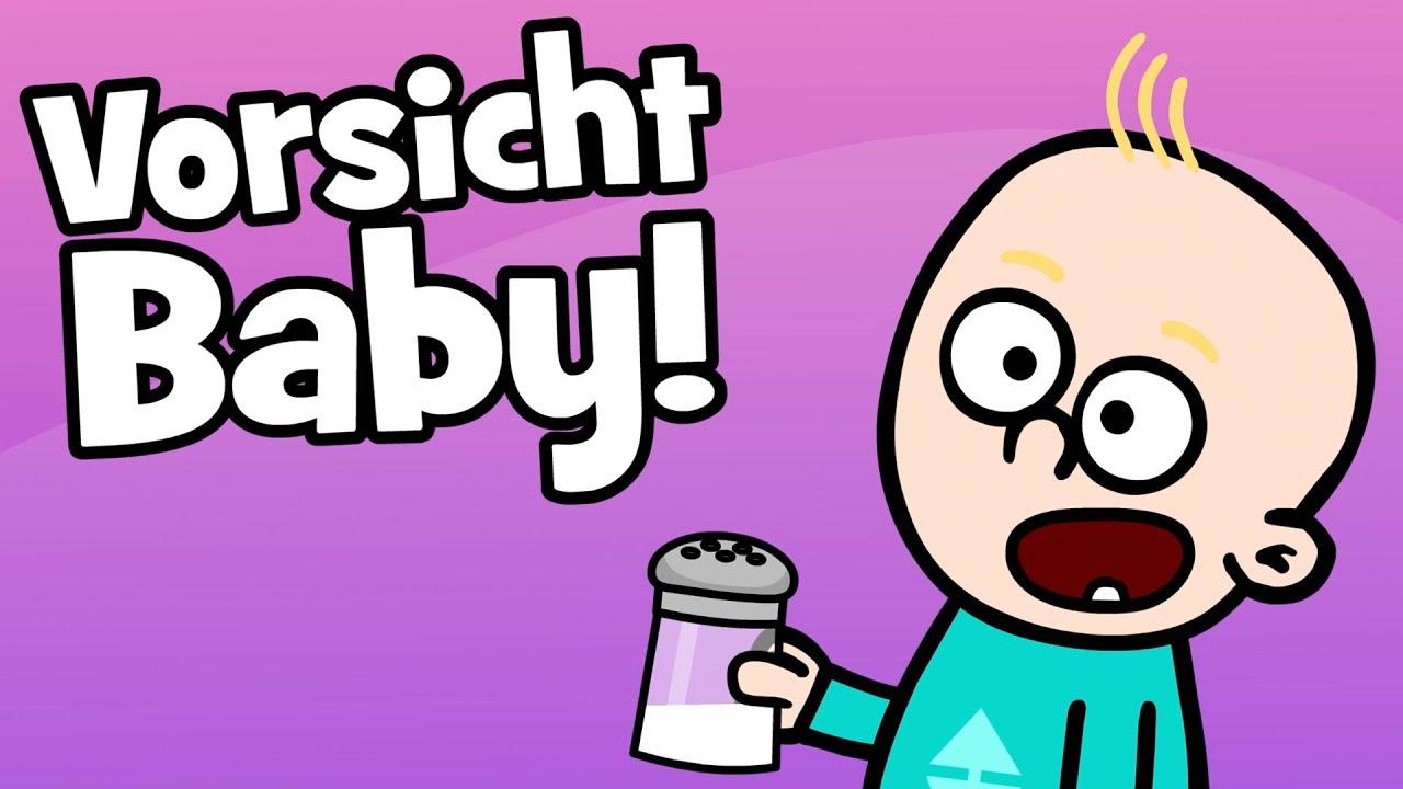 Download ♪ ♪ Kinderlied Geschwister: Aufs Baby aufpassen - Vorsicht Baby - Hurra Kinderlieder