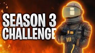 DIE SEASON 3 CHALLENGE! 🚀 | Fortnite: Battle Royale