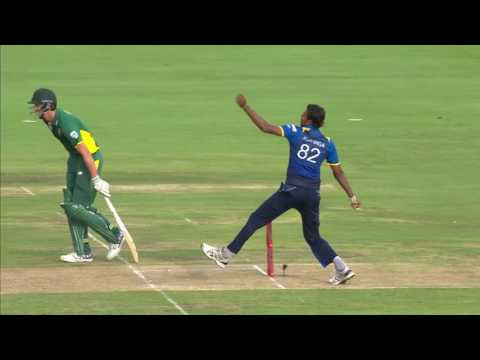 South Africa vs Sri Lanka - 5th ODI - Farhaan Behardien Wicket