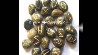 Wholesale Rune Set, Rune Stones, Agate Runes, Tumbled Runes, Tumbled Rune Set