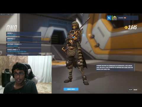 Ana Amari Arabic voice lines explained in ENGLISH OVERWATCH