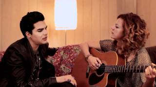 Nikka Costa & Adam Lambert belt out a new tune