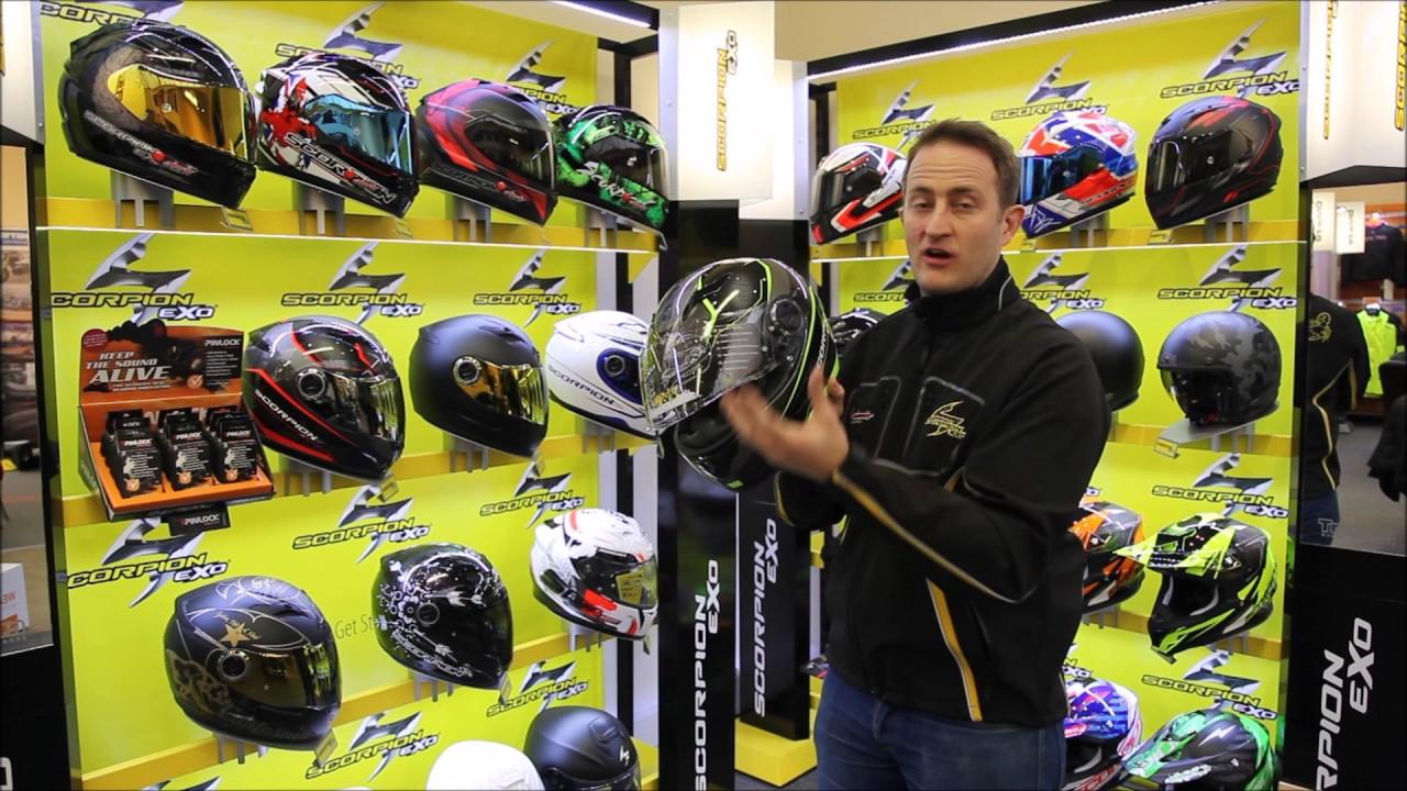 Scorpion Exo 490 Motorcycle Helmet Uk Review Full Hd Youtube