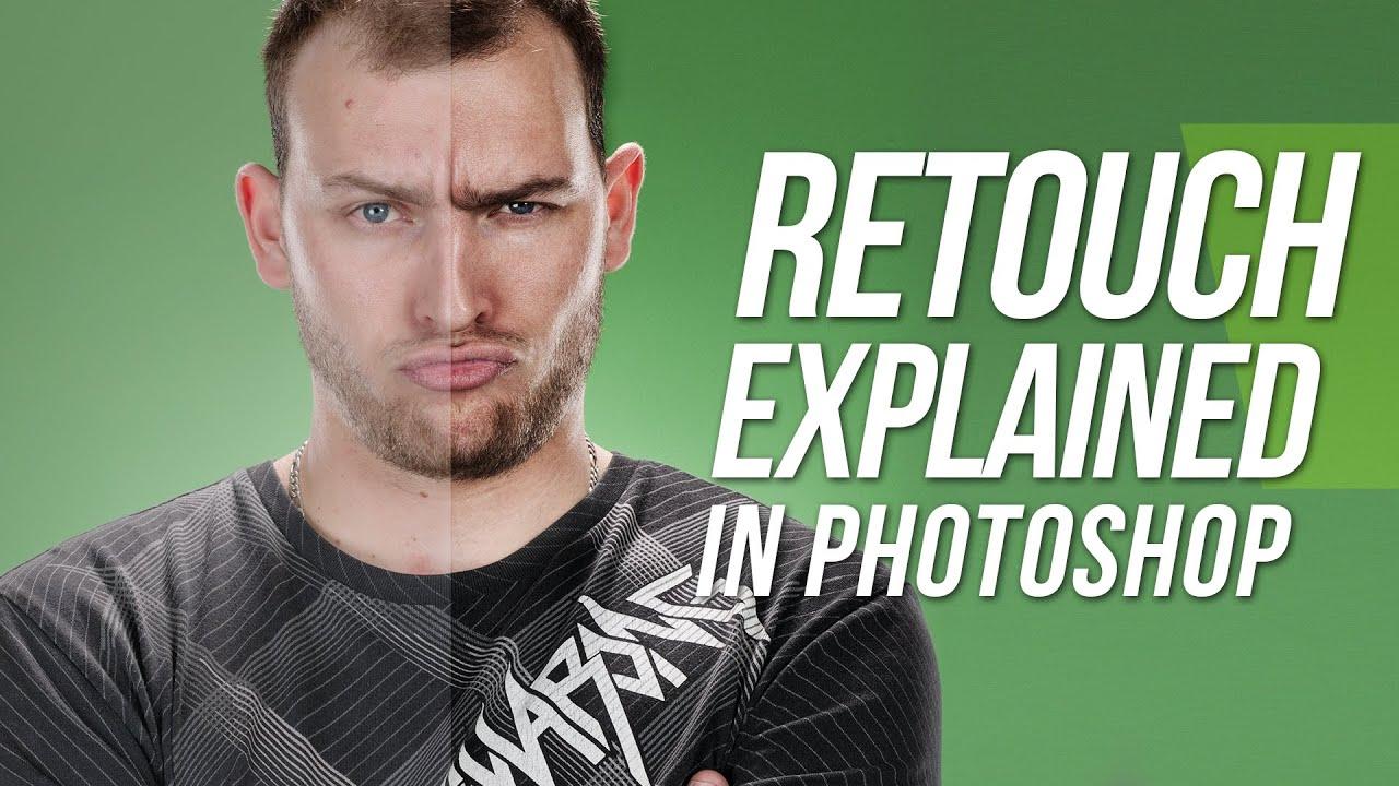 Photoshop cs6 tutorial complete retouching explained youtube baditri Image collections