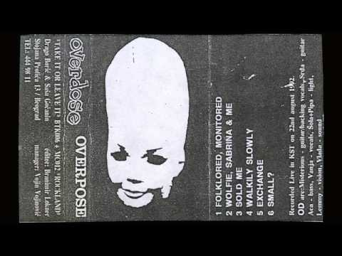 "OVERDOSE ""Overpose"" cassette (Take It Or Leave It Records/Rockland) 1992."