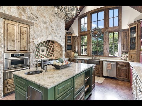 12524 Triple Creek Dripping Springs TX - Old World Estate on Barton Creek 5+ Acres