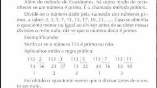 MATEMÁTICA FUNDAMENTAL 39 - MÉTODO PRÁTICO - Números primos entre si.flv