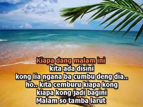 Hati ini bukan batu # Karaoke Manado