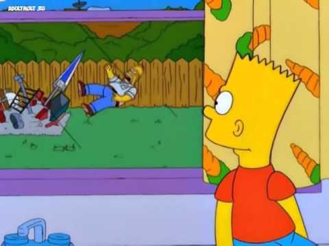 Смешной крик Гомера Симпсона