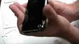 Invisible SHIELD for iPhone 3G Installation