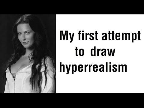 My best drawing so far. Hyper realism. Bridget Regan - Legend of the Seeker.